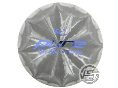 NEW Latitude 64 Zero Medium Burst Pure 175g Gray Blue Foil Putter Golf Disc