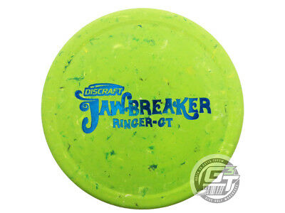 NEW Discraft Jawbreaker Ringer GT 164-166g Lime Blue Foil Putter Golf Disc
