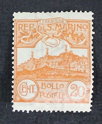 CKStamps: Italy San Marino Stamps Collection Scott#50 Mint H OG Lightly Crease