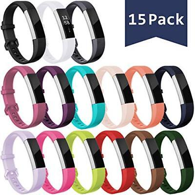 2 Pack Silicone Band Compatible with Fitbit Alta//Fitbit Ace//Alta HR Sport Fitness Wristband ESeekGo Compatible with Fitbit Alta//Fitbit Ace//Fitbit Alta Hr Bands