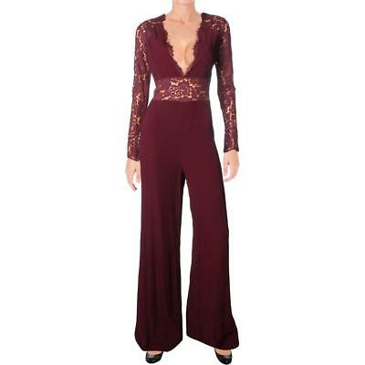 4030ae2ead9 Lovers + Friends Womens Justine Lace Special Occasion Jumpsuit BHFO 5553