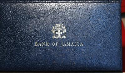 Uncircualted 1976 Bank Of Jamaica 4 Notes (($1, $2, $5, $10) Set