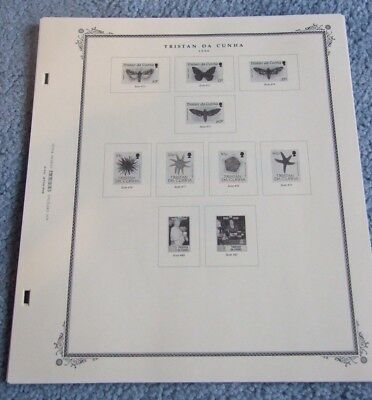 Tristan Da Cunha Scott Specialty Album Pages 1988-1996 & Postage Dues 21 Pages