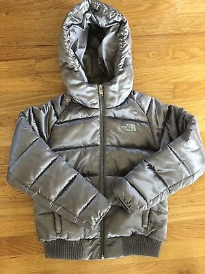 The North Face jacket GIRLS M 10/12 Kids Girls  Winter Silver Grey