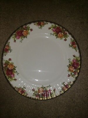 "Royal Albert Old Country Roses 1962 10-1/2""Dinner Plates (30 items Left."