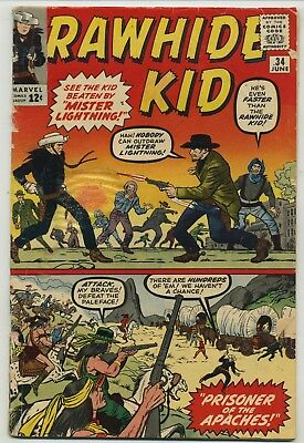 Rawhide Kid 34 Early Issue