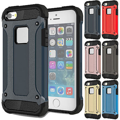 Luxury Shockproof Rugged Rubber Bumper Phone Cover Case For iPhone 6 / 6s Plus