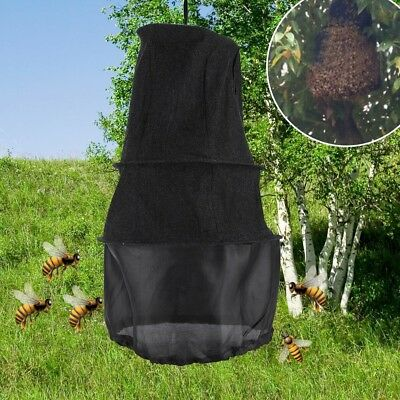 3 Layers Beekeeping Tools Bee Cage Catch Bees Wild Recruit Black 55cm Outdoor