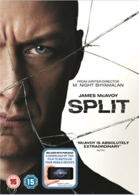 Split (DVD + Digital Download) [2017], 5053083109516