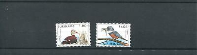 Suriname Mnh 2000 Birds Kingfisher 2013