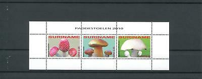 Suriname Mnh 2010 Mushrooms 2085
