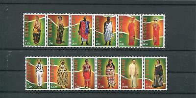 Suriname Mnh 2002 Clothing Culture 2020