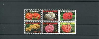 Suriname Mnh 2008 Flowers 2068