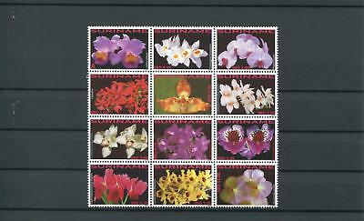 Suriname Mnh 2010 Flowers 2080