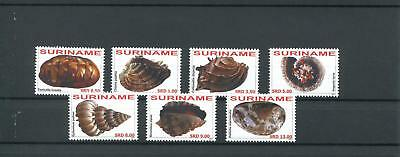Suriname Mnh 2011 Shells 2087