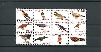 Suriname Mnh 2006 Birds Owl 2045