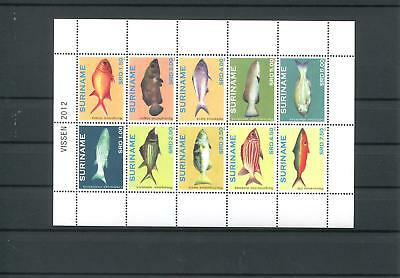 Suriname Mnh 2012 Fish 2105
