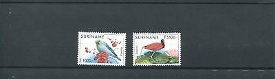 Suriname Mnh 1999 Birds 2011