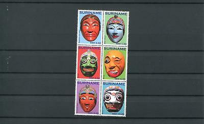 Suriname Mnh 2010 Masks 2083