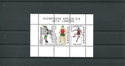 Suriname Mnh 2012 Olympic Games 2106