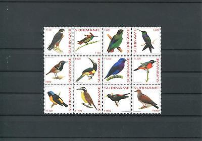 Suriname Mnh 2003 Birds 2024