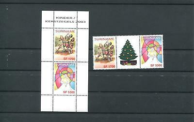 Suriname Mnh 2003 Christmas 2030