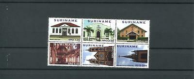 Suriname Mnh 2012 Architecture 2096