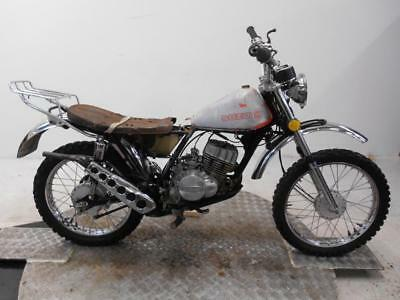 1973 Suzuki TC125K Prospector  Unregistered US Import Barn Find Restoration Proj