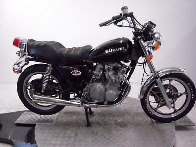 1980 Suzuki GS550L  Unregistered US Import Barn Find Classic Restoration Project