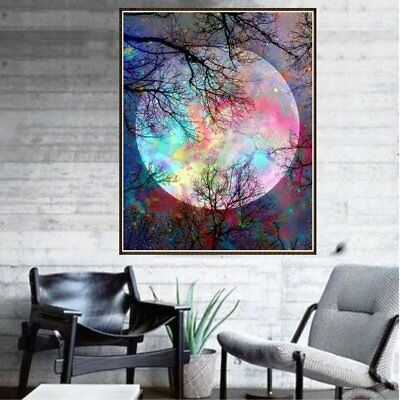 8255 DIY Art Painting Handmade Full Diamond Painting Cross Stitch Wall Decor PM