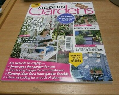 Modern Gardens magazine FEB 2019 Boring Hedges; Wow Treatment, Upcycling & more