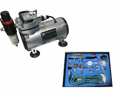 Airbrush Kit + Airbrush Compressor Air Brush Compressor 280K Air Brush Kit