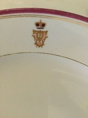 RUSSIAN IMPERIAL PORCELAIN FACTORY  ,plate  Prince Barclay de Tolly 's service