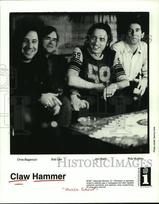 1997 Press Photo Members of the music group Claw Hammer - hcp03757