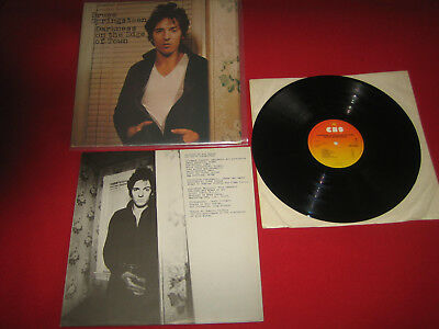 ROCK   1 Lp  BRUCE SPRINGSTEEN  DARKNESS ON THE EDGE OF TOWN