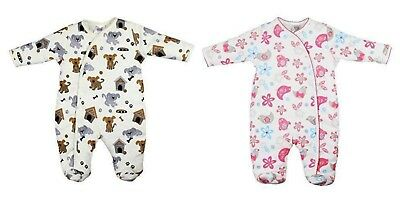 Baby Wadded Sleepsuit Last Few Reduced