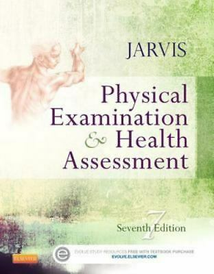Physical Examination and Health Assessment by Carolyn Jarvis 7th Ed (E-B00K PDF)