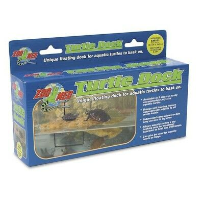 Zoo Med Floating Turtle Dock Mini Small Medium Large & Suckers Zoomed Terrapin
