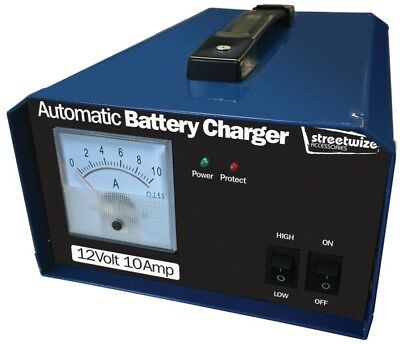 Streetwize Battery Charger 12V 10 Amp