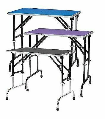 Adjustable Height Folding Portable Grooming Tables for Dogs Mobile Dog Table