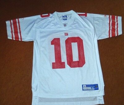 Eli Manning - New York Giants Super Bowl Trikot - Reebok Gr.M Adults NFL Equipm.