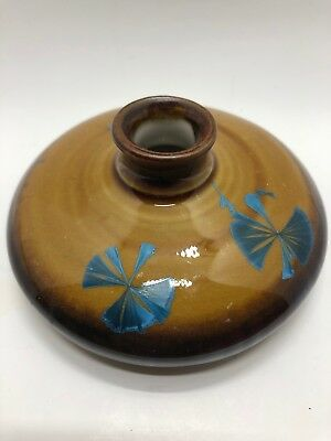 Ray West Studio Pottery Decorative Bud Vase Signed by Artist at Sequoia Pottery