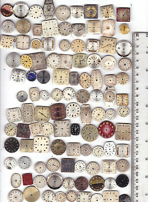 Lot of  210 Women WATCH DIAL Vintage  Steampunk Art or for parts *S14938