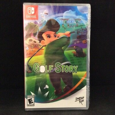 Golf Story (Limited Run Game) (Switch) BRAND NEW/ Region Free