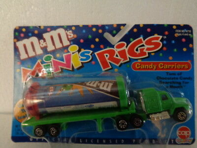 *M&M's Minis Rig Candy Carrier ~ Cap Candy ~  Official Licensed Product  Mars !!