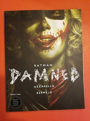 Batman Damned #2 Dc Comics 12/12/18 Black Label Nm