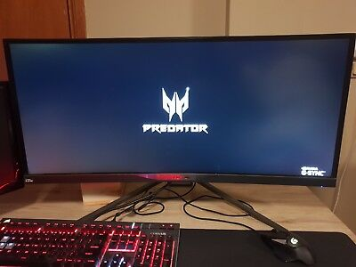 Acer Predator X34 Curved 34in Ultra-Wide 100Hz G-Sync IPS Gaming Monitor
