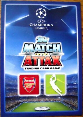 2015-16 UEFA Champions League TOPPS Match Attax UK card You Pick Player - 1