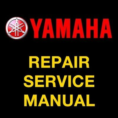 Yamaha Exciter 570 EX570 Snowmobile 1987 1988 1989 1990 REPAIR SERVICE MANUAL