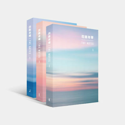 BTS 花樣年華 THE NOTES SET (K/E/J) + Pre-Order Special Notes Official Goods NEW